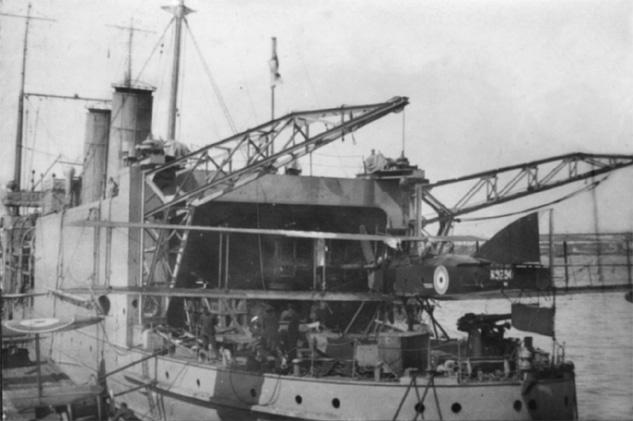 HMS Pegasus.